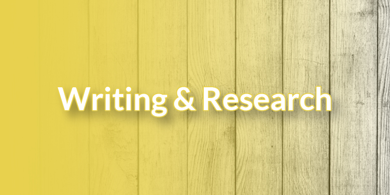 Writing & Research