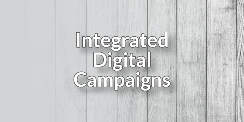 Integrated Digital Campaigns